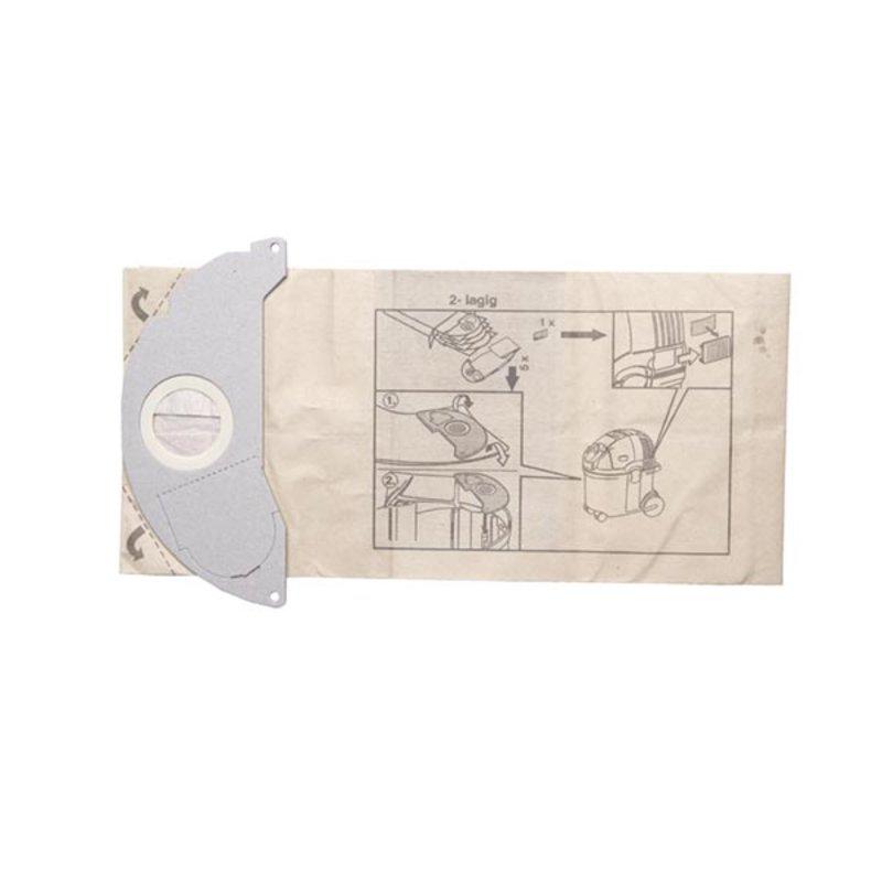 k rcher 5x papierfilterbeutel f r a 2501 a 2601 se 3001. Black Bedroom Furniture Sets. Home Design Ideas